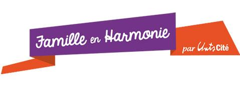 Logo Unis-Cité - Famille en Harmonie